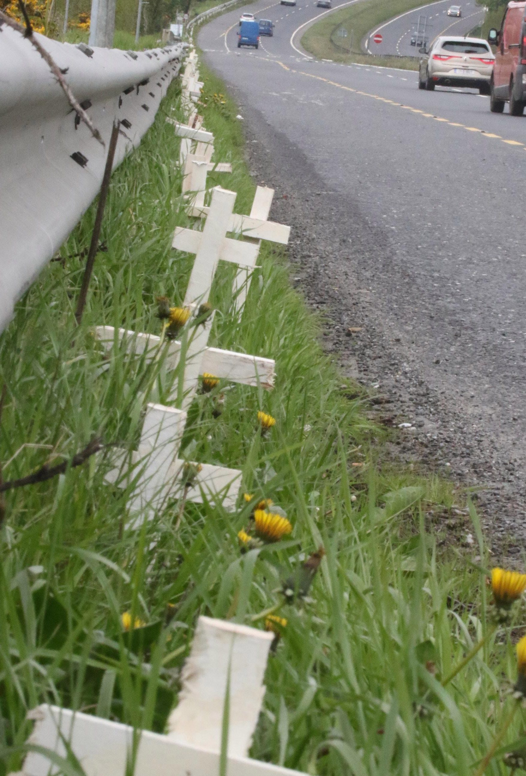 Risk Mitigation and The Road of White Crosses